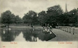 Photo:Clapton Common, with its grazing cows and dogs swimming in the pond, was outside the Booth's front door